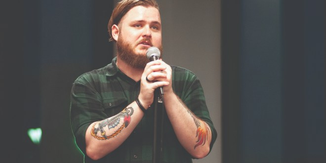 Poet discusses mental illness through spoken word