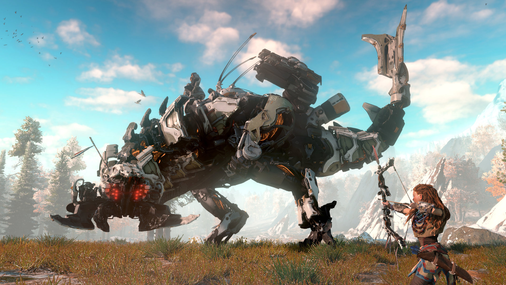Horizon Zero Dawn     PS Wallpapers Horizon Zero Dawn