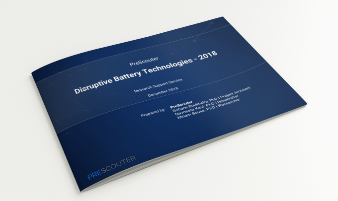 Disruptive Battery Technologies