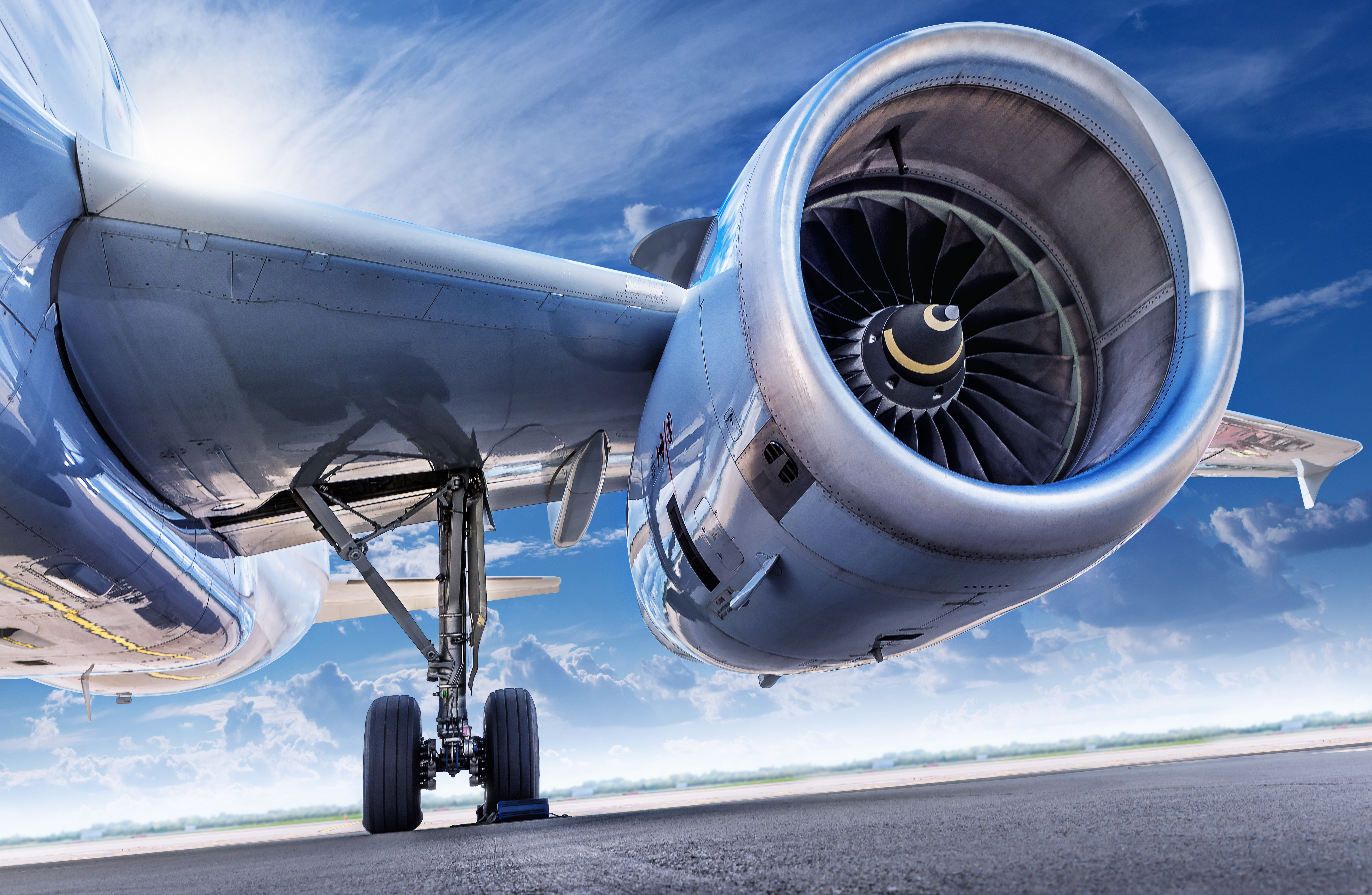 What are some recent advances in high-temperature materials for jet engines?