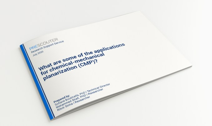 What are some of the applications for chemical-mechanical planarization (CMP)?