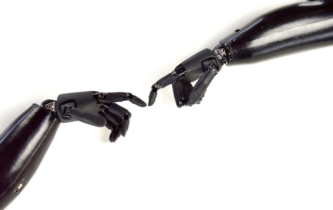 Robot vision and touch: Bringing robots to their senses