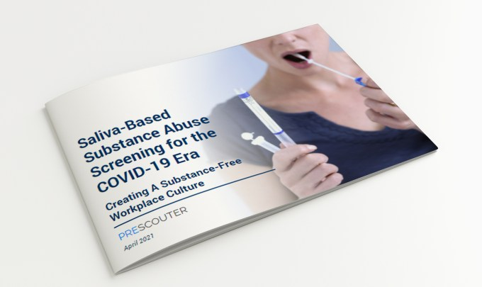 Saliva-Based Substance Abuse Screening for the COVID-19 Era