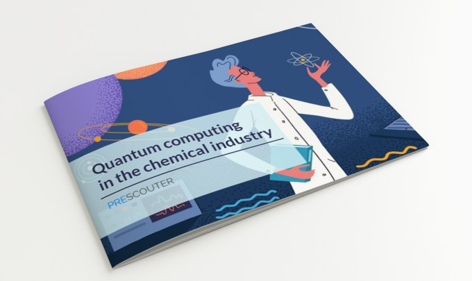 Quantum computing in the chemical industry