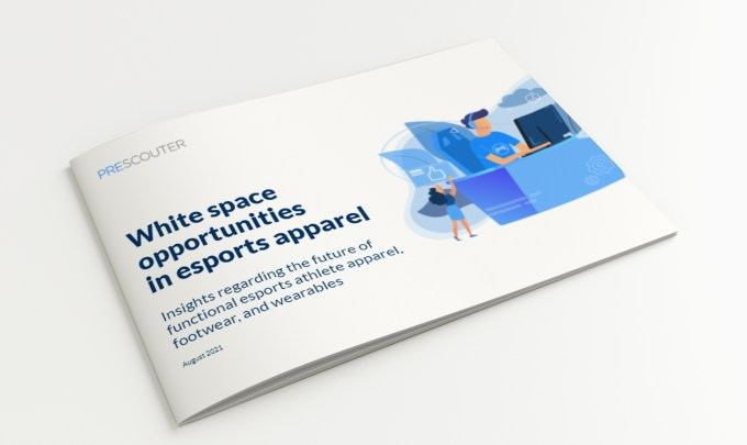 White space opportunities in esports apparel