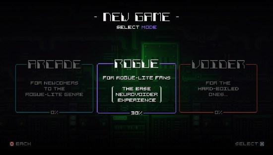 NeuroVoider New Game