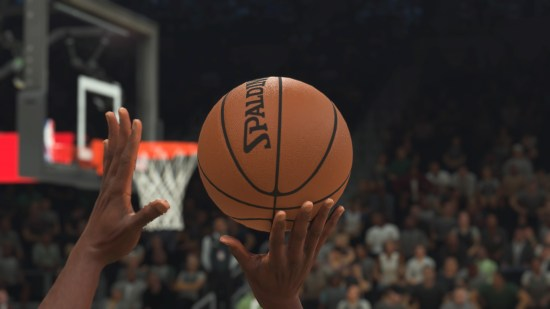 NBA 2k21 The most detailed ball in gaming?