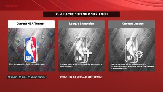 NBA 2K22 Current Teams