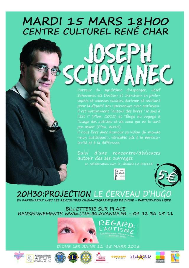 Joseph Schovanec, Digne les Bains Autisme