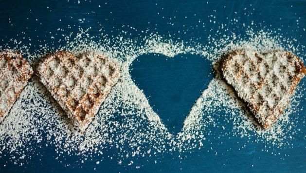 trouble des conduites alimentaires: série de gaufres