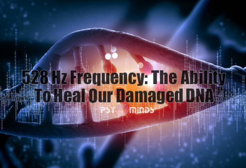 528 Hz Frequency DNA
