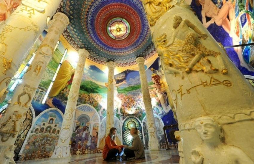 Damanhur Hidden Network Psychedelic Temples