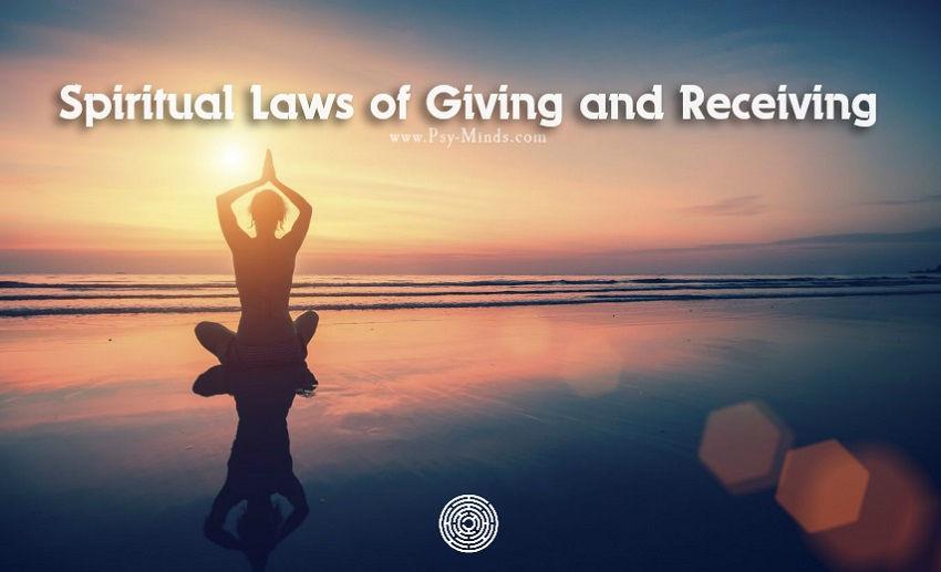 Spiritual Laws Giving Receiving