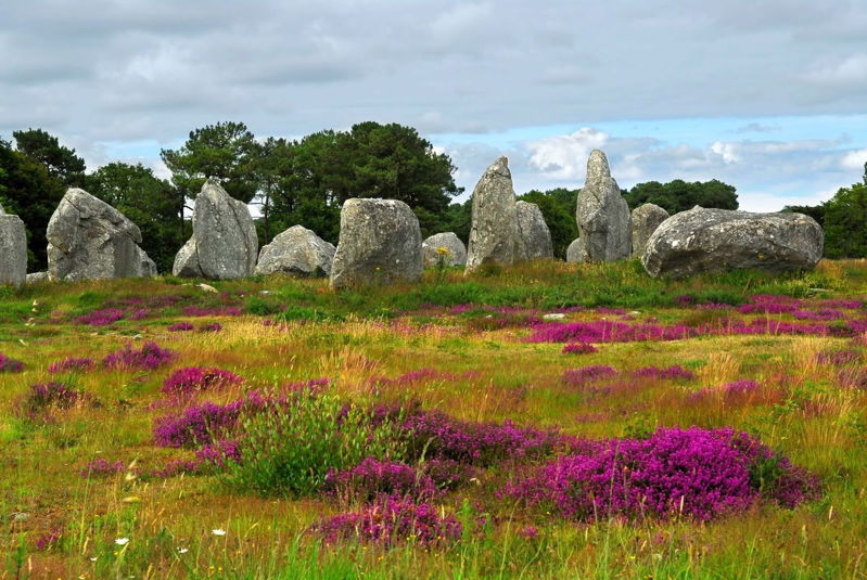Carnac Megalithic Standing Stones in France