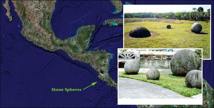 Costa Rica Mysterious Stone Balls