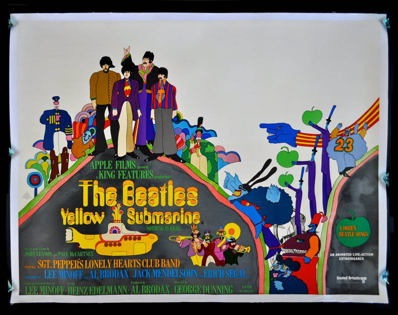 psychedelic movies Yellow Submarine