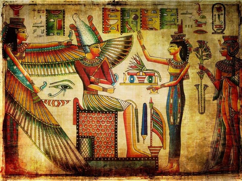 Egyptian Hieroglyphics Wine