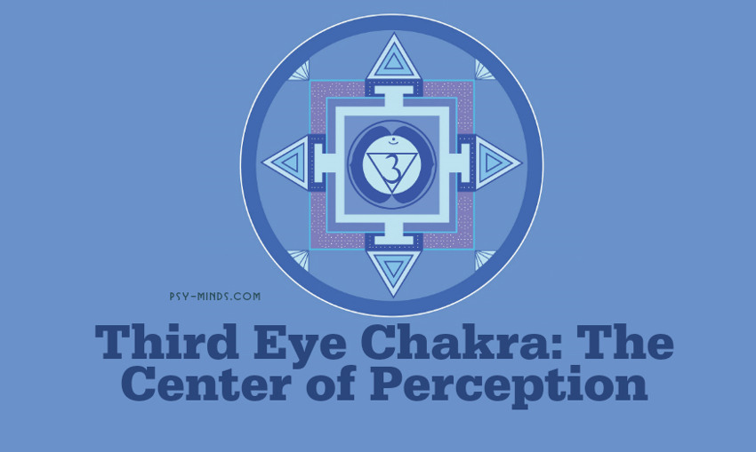 Third Eye Chakra The Center of Perception