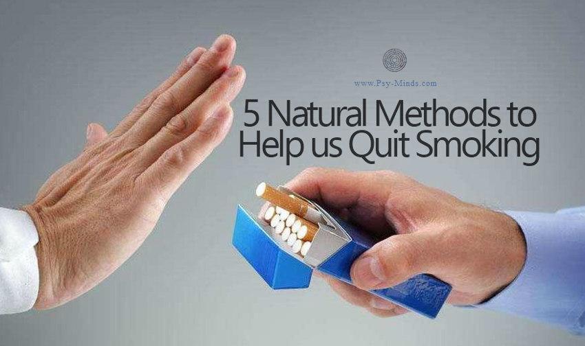 5 Natural Methods to Help us Quit Smoking