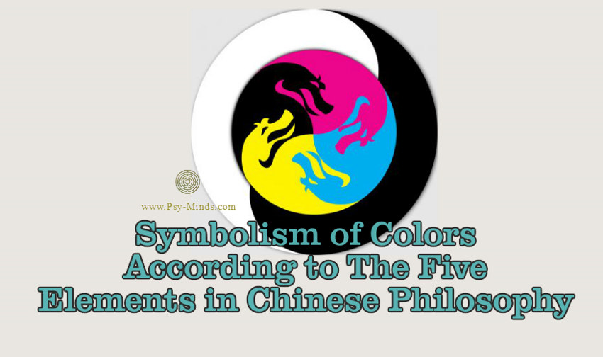 Symbolism Of Colors According To The Five Elements In Chinese
