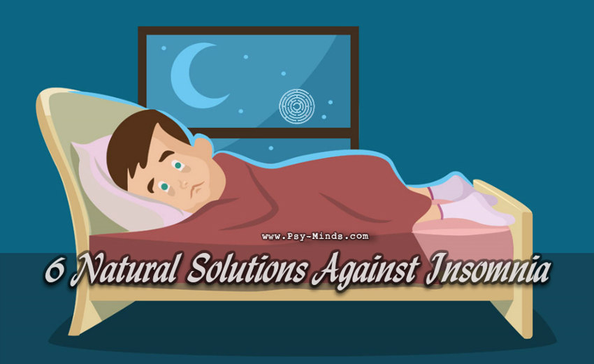 6 Natural Solutions Against Insomnia