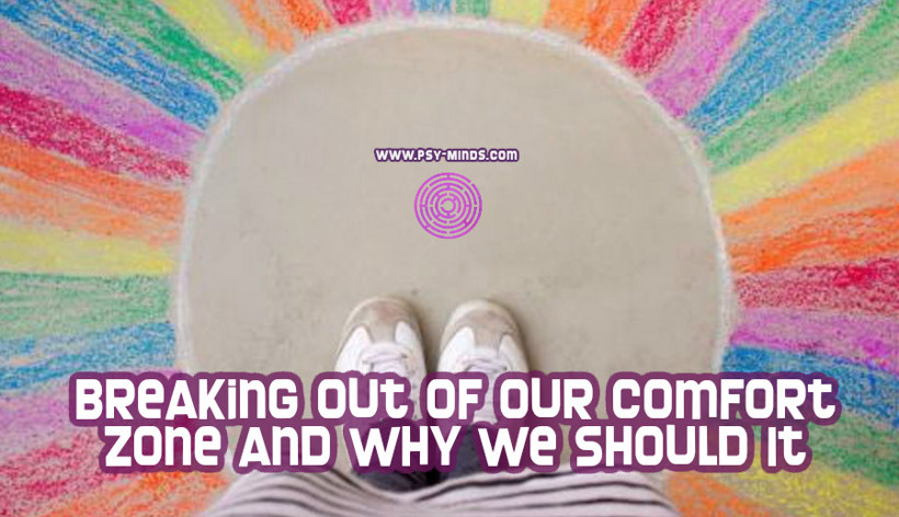 Breaking Out of Our Comfort Zone and Why We Should It