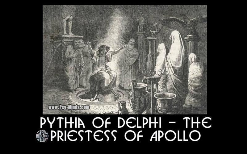Pythia of Delphi - The Priestess of Apollo