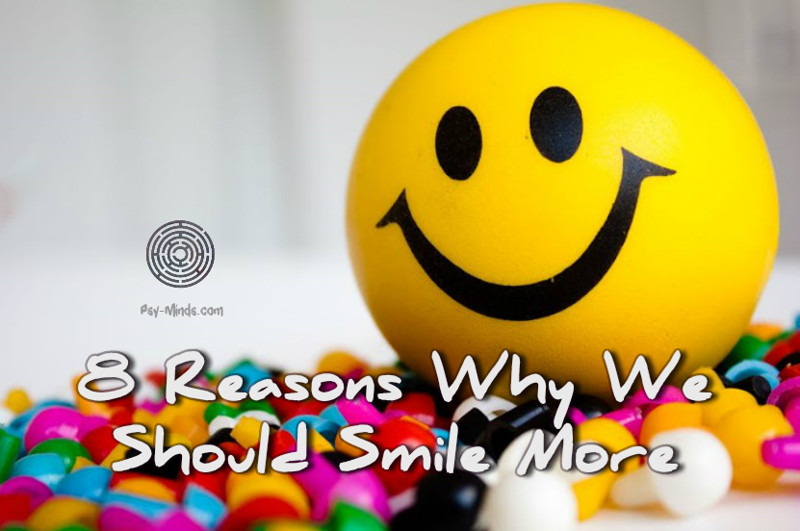 8 Reasons Why We Should Smile More