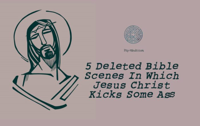 5 Deleted Bible Scenes In Which Jesus Christ Kicks Some Ass