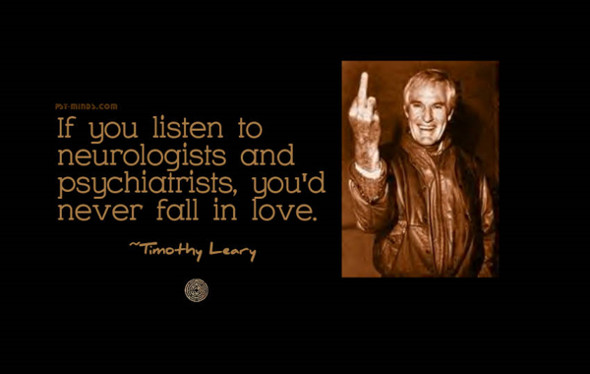 Timothy Leary quote love