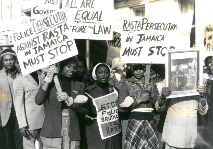 Reggae Music protests