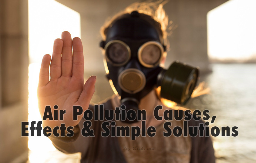 Air Pollution Causes, Effects & Simple Solutions
