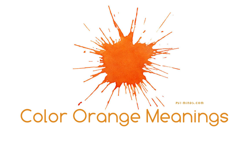 Color Orange Meanings