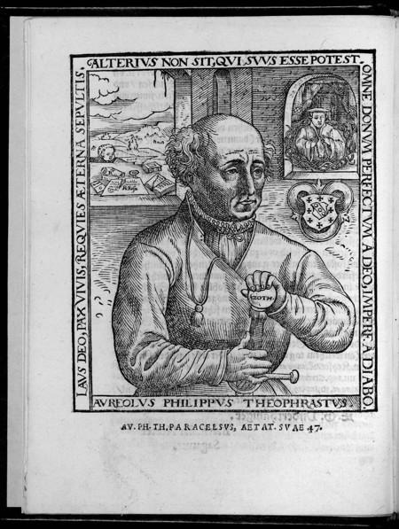 Paracelsus alchemy
