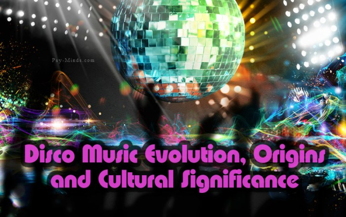 Disco Music Evolution, Origins and Cultural Significance