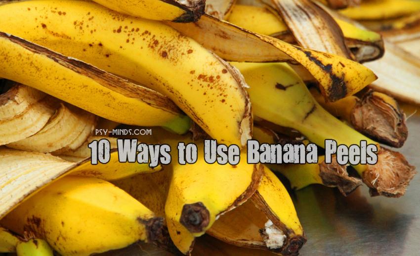 10 Ways to Use Banana Peels