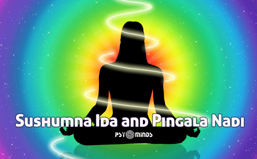 Sushumna Ida and Pingala Nadi