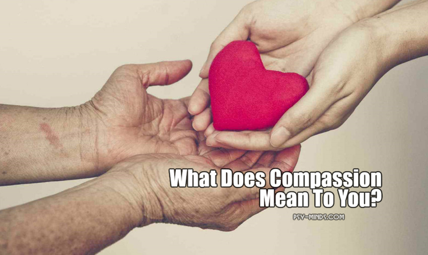 What Does Compassion Mean To You