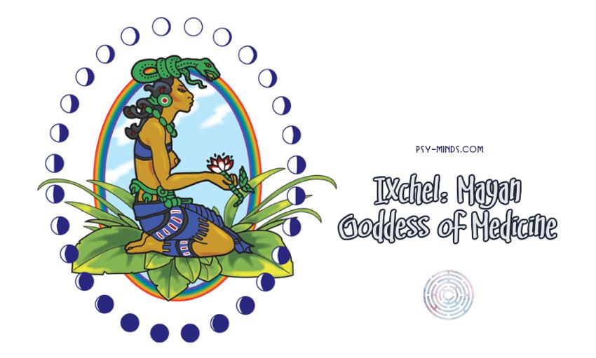 Ixchel Mayan Goddess of Medicine