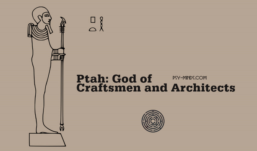 Ptah God of Craftsmen and Architects