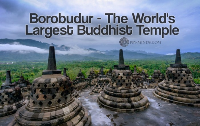 Borobudur - The World's Largest Buddhist Temple