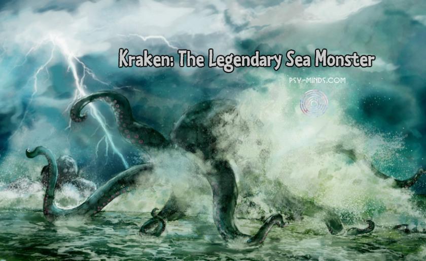 Kraken The Legendary Sea Monster