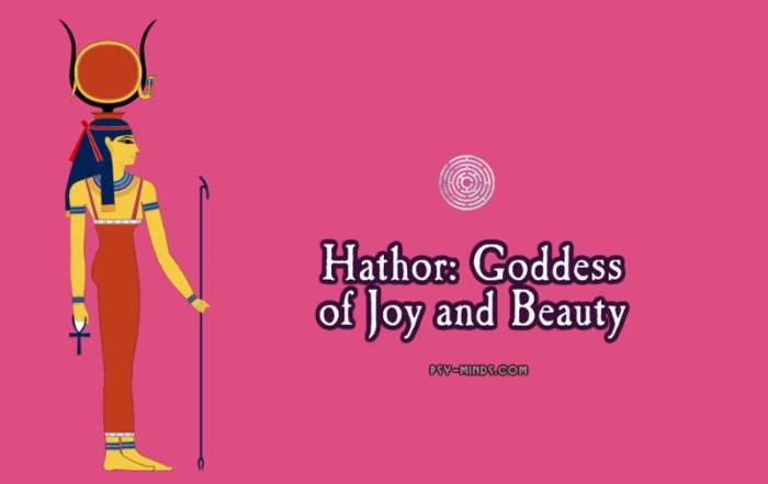 Hathor Goddess of Joy and Beauty