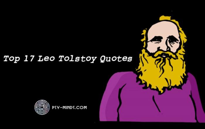 Top 17 Leo Tolstoy Quotes