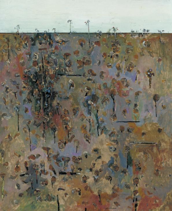Upwey Landscape 1964-5 Fred Williams