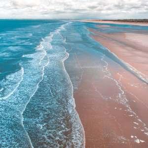 Sea, saline (salty) smells, fresh open water, beaches