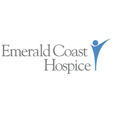 emerald coast hospice logo type logo icon
