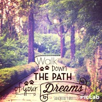 Walk down the path of your dreams