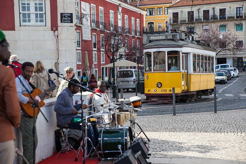 Lizbona, Largo de Santa Luzia