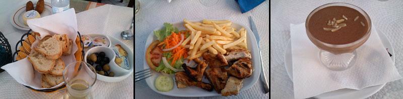 Pierwszy portugalski obiad :)